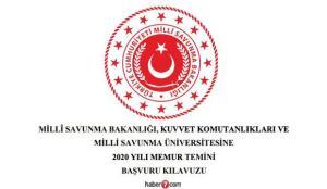 MSB askeri komutanlıklara KPSS ile memur alım ilanı! HKK, DKK ve KKK kadroları ve şartları…