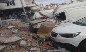 Olay Yerinden İlk Görüntüler! Bahçelievler'de Sanayi Sitesinde Patlama