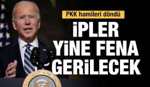 PKK hamileri döndü