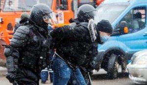 Rusya'da, 'Navalny' protestolarında gözaltılar artıyor
