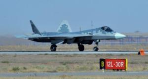 Seri üretimden çıkan ilk Su-57 savaş uçağının uçuş görüntüleri yayınlandı