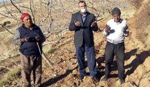 Siirt'te fıstık üreticileri yağmur duasına çıktı