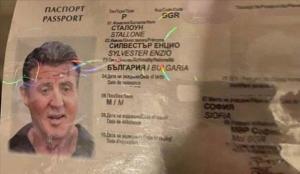 Sonunda bu da oldu! Rambo için sahte pasaport…
