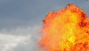 Ukrayna'da gaz boru hattında büyük patlama!