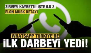 Whatsapp'a Türk kullanıcılardan büyük darbe! İlk 3 değişti Elon Musk detayı…