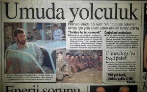 1996 Yılında PKK'nın Kaçırdığı 8 Askerin Ailelerine Kavuşma Hikayesi: Kuzuların Koyunlara Kavuşması Gibiydi