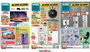 A101 11 Şubat Aktüel Kataloğu! Robot süpürge, mobilya, elektronik, züccaciye ürünlerinde