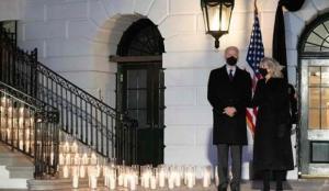 ABD'de Kovid-19'tan hayatını kaybedenler anısına tören