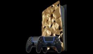 Altın kaplama PlayStation 5'in fiyatı dudak uçuklattı