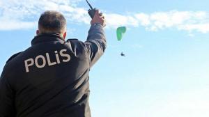 Antalya'da garip olay: 'Polis kuş uçurtmadı' deyimi gerçek oldu