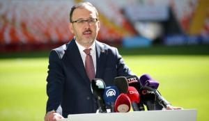 Bakan Kasapoğlu: Türkiye spor tesislerinde Avrupa'da öncü hale geldi