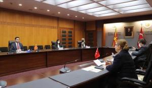 Bakan Pekcan, Kuzey Makedonya Ekonomi Bakanı ile görüştü