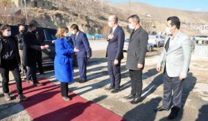 Bakan Yardımcısı Yavuz, Yüksekova'da incelemelerde bulundu