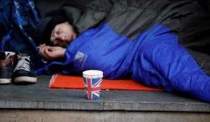 Birleşik Krallık'ta geçen yıl 976 evsiz hayatını kaybetti!