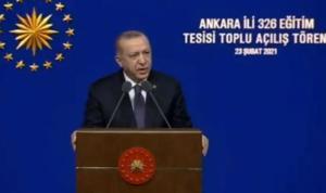 """Cumhurbaşkanı Recep Tayyip Erdoğan: """"20 bin öğretmen atayacağız"""""""
