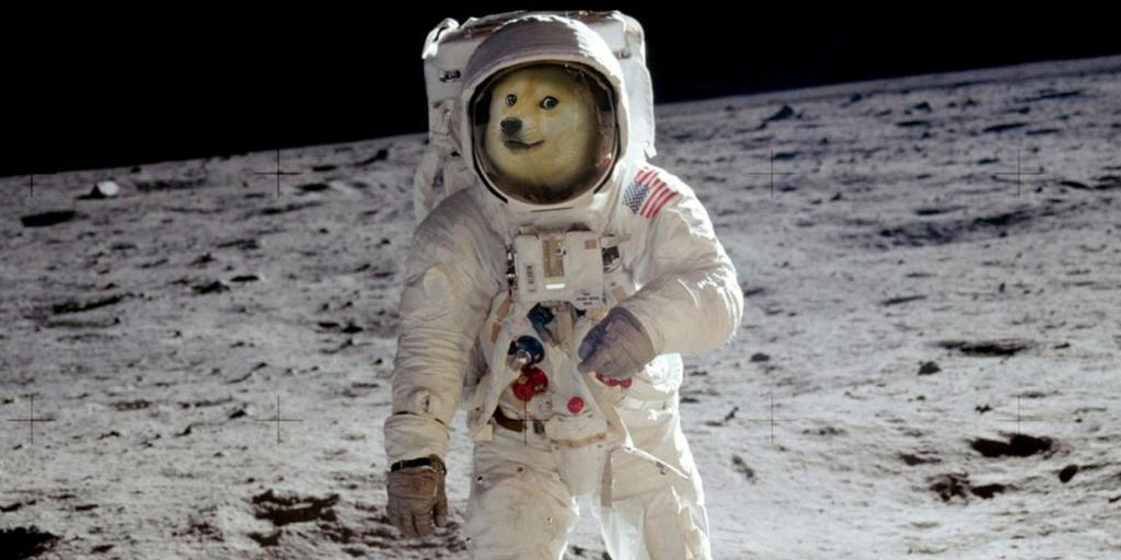 Elon Musk'tan Ay Temalı Dogecoin (DOGE) Paylaşımı