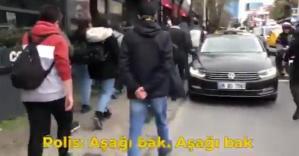 Emniyet Genel Müdürlüğü'den Boğaziçi Açıklaması: Polis 'Aşağı Bak' Değil, 'Aşağıdan' Dedi