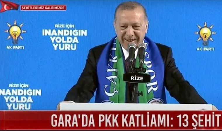 Erdoğan Gara Katliamı'nı anlattı, Karadeniz şivesiyle konuşup güldü