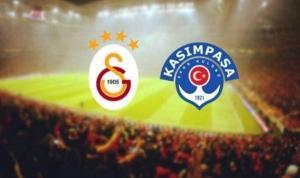 Galatasaray-Kasımpaşa maçında gol geldi