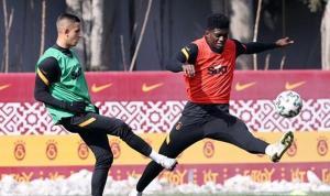 Galatasaray'da Erzurumspor maçının hazırlıkları başladı