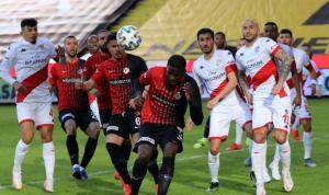 Gaziantep  Antalyaspor sessiz sedasız