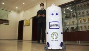 Göbeklitepe robotu koronavirüs hastalarına müdahale edecek