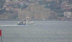 Gökçeada ve Bozcaada'ya yarınki feribot seferleri iptal edildi