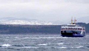 Güney Marmara'da kar yağışı ve fırtına nedeniyle yarın feribot seferleri yapılmayacak