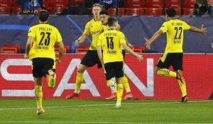 Haaland coştu, Dortmund tur kapısını araladı!