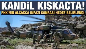 Hedef PKK'nın ana karargahı Kandil'i yerle bir etmek