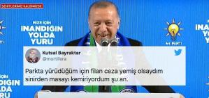 Herkese Yasak AKP'ye Serbest: Erdoğan Rize Kongresinde Salonun Dolululuğu ile Övündü Tepkiler Gecikmedi
