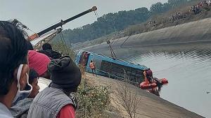 Hindistan'da katliam üzere kaza!