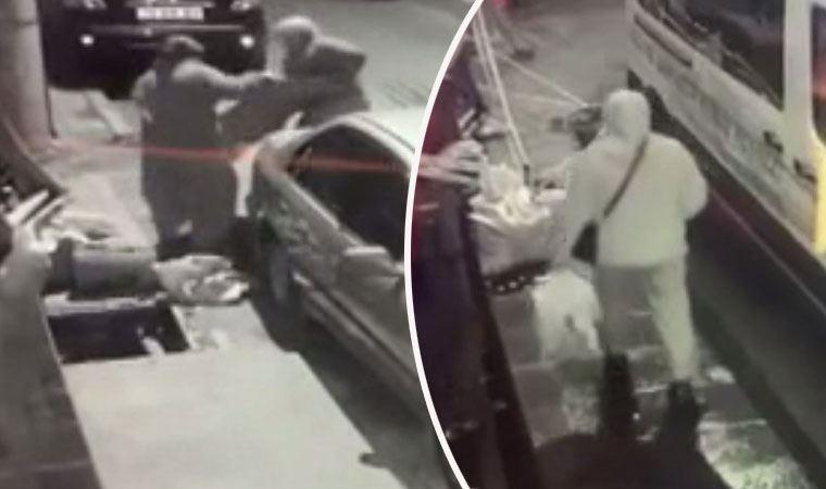 Hırsızlar kapağı çaldı, talihsiz kadın çukura böyle düştü