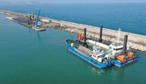 İhracata katkı sunacak Ünye Limanı'nda çalışmalar sürüyor