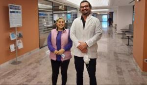 İzmir'de doktor hastasını ameliyat edebilmek için Amerika'da 2 ay eğitim aldı!