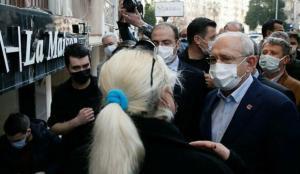 İzmir'i ziyaret eden Kılıçdaroğlu'na esnaflardan tepki: 35 yıldır…