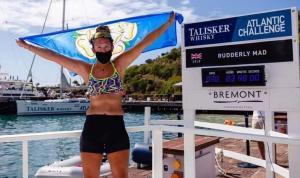 Jasmine Harrison Atlantik Okyanusu'nu tek başına kürek çekerek geçen en genç kadın oldu