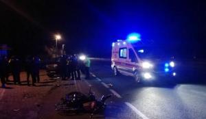 Kocaeli'de pikapla motosiklet çarpıştı: 1 ölü, 1 yaralı