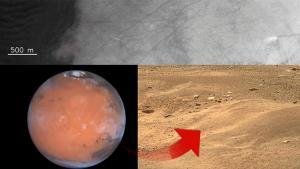 Mars'tan inanılmaz bir imaj daha! Devasa hortumların fotoğrafı yayınlandı…