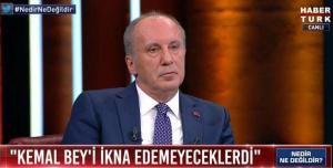 Muharrem İnce, CHP Yönetimini Topa Tuttu: 'Bunlar Gizli Tayyipçi, Kripto Tayyipçi'