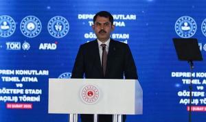 Murat Kurum'dan Kanal İstanbul açıklaması: 2021 yılı içerisinde projemizin ihalesini yapacağız