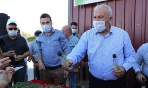 Tarım arazilerini üretime açtık