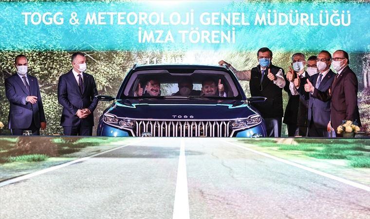 TOGG ile Meteoroloji Genel Müdürlüğü arasında protokol imzalandı