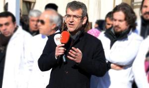 TTB Yüksek Onur Kurulu üyesi Dr. Şeyhmus Gökalp tahliye edildi