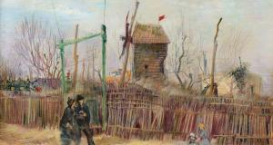 Van Gogh'un sergilenmemiş eseri Montmartre 10 milyon dolara açık artırmada