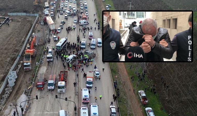 4 kişinin ölümüne sebep olan TIR sürücüsü tutuklandı