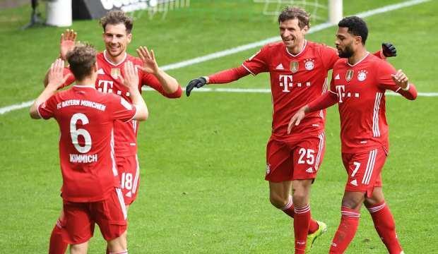 Bayern Münih, W.Bremen deplasmanında hata yapmadı!