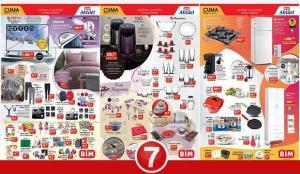 BİM 5 Mart Aktüel Kataloğu! Elektronik, züccaciye, tekstil, buzdolabı ve elektrikli ürünlerde..