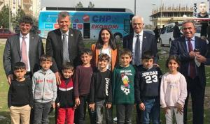 CHP heyeti, 'Kaygılı halk umut arayışında'