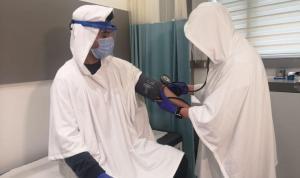 'Covid-19 Kalkanı' hastanelerde denendi; göz ve cilde zararı yok